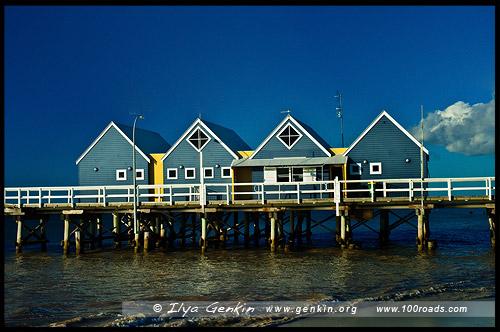 Пирс, Busselton Jetty, Басселтон, Busselton, Западная Австралия, Western Australia, WA, Австралия, Australia