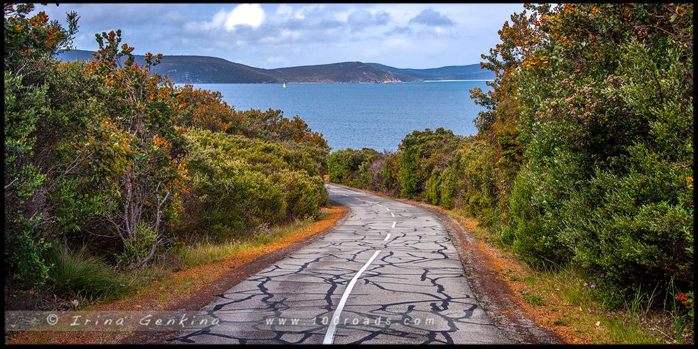 Marine Drive Scenic Path, Олбани, Albany, Западная Австралия, Western Australia, Австралия, Australia