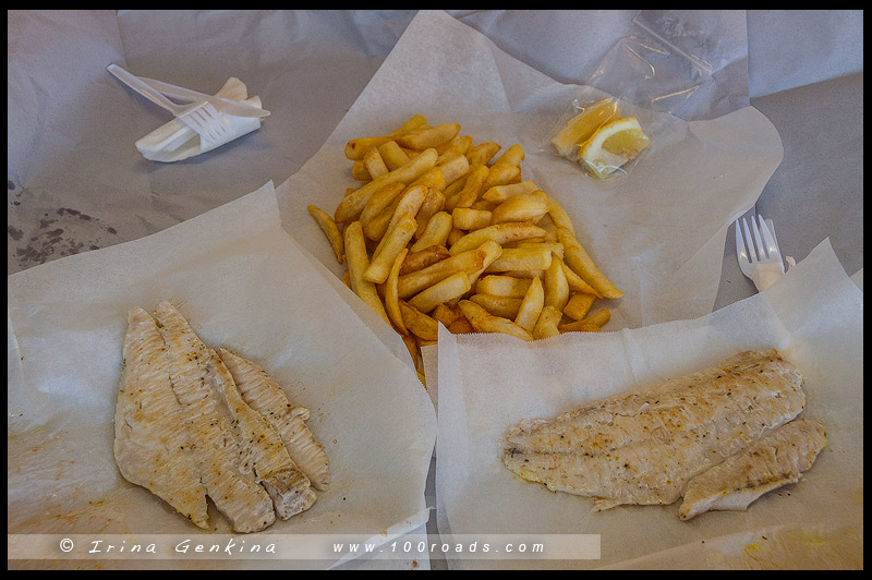 fish-and-chips Августа, Augusta, Западная Австралия, Western Australia, Австралия, Australia