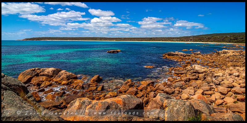 Bunkers beach, Мыс Натуралист, Cape Naturalist, Юго-Запад, Западная Австралия, Western Australia, Австралия, Australia