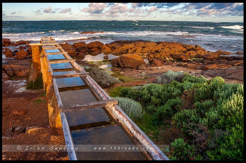 Мыс Лювин, Cape Leeuwin, Августа, Augusta, Западная Австралия, Western Australia, Австралия, Australia