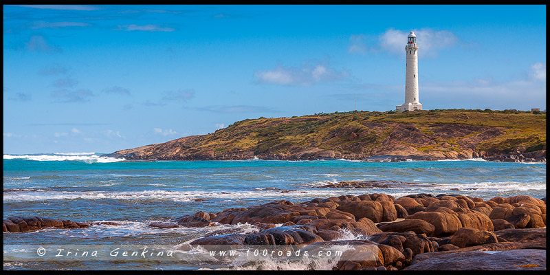 Маяк Мыса Лювин, Cape Leeuwin Lighthouse, Августа, Augusta, Западная Австралия, Western Australia, Австралия, Australia