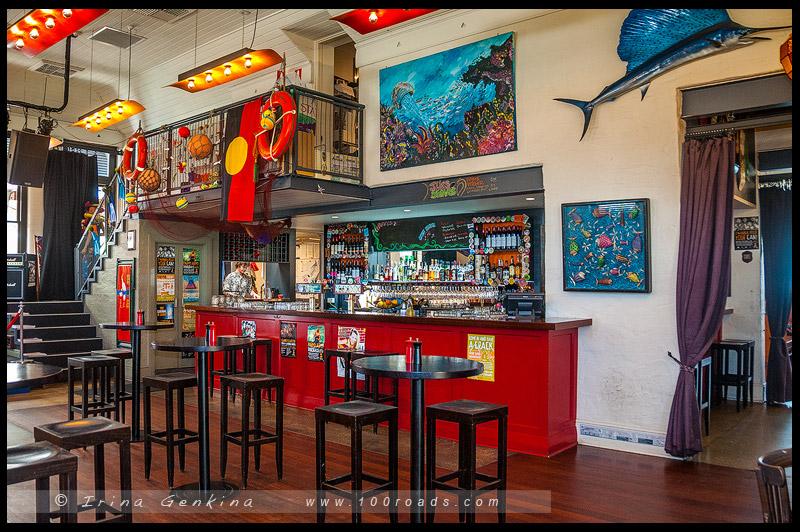 Clancys Fish Pub, Фримантл, Fremantle, Западная Австралия, Western Australia, Австралия, Australia