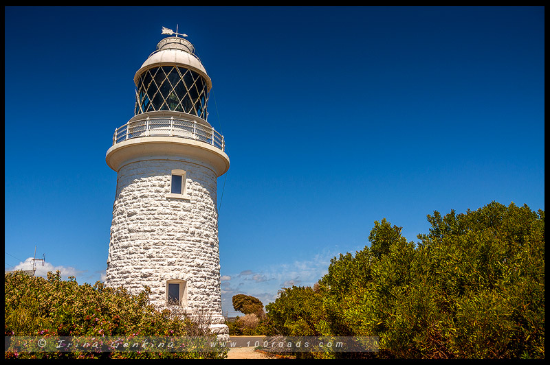 Маяк мыса Натуралист, Cape Naturaliste Lighthouse, Мыс Натуралист, Cape Naturalist, Юго-Запад, Западная Австралия, Western Australia, Австралия, Australia