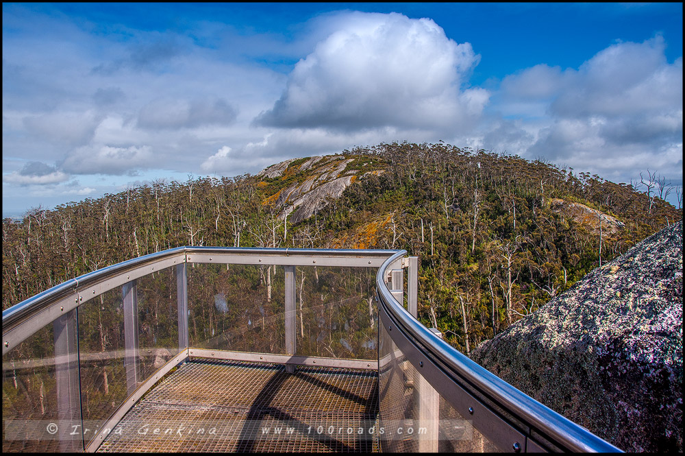 Castle Rock, Granite Skywalk, Porongurup National Park, Западная Австралия, Western Australia, Австралия, Australia