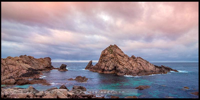Скала Сахарная голова, Sugarloaf Rock, Юго-Запад, Западная Австралия, Western Australia, Австралия, Australia