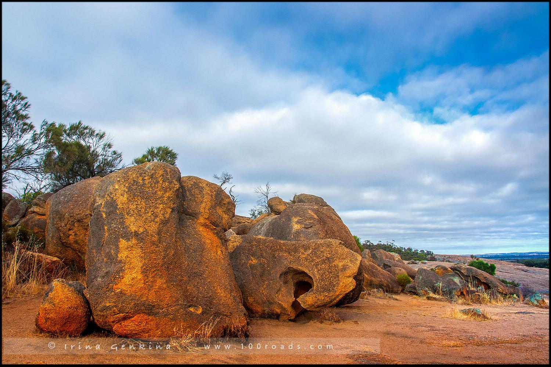 Скала Волна, Wave Rock, Западная Австралия, Western Australia, Австралия, Australia