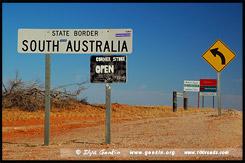 Камерон Корнэ, Cameron Corner, Парк Стюрт, Sturt NP, Новый Южный Уэльс, NSW, Австралия, Australia