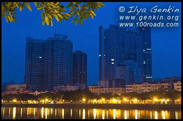 Набережная Жемчужной реки, Pearl River, Гуанджоу, Гуанчжоу, Guangzhou 广州市, Китай, China, 中國, 中国