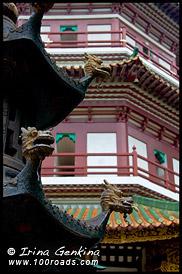 Цветочная Пагода, Хуата, Hua Ta, Храм Шести Деревьев Баньян, Лю жун сы, 六榕寺, liu-rong-si, Гуанджоу, Guangzhou 广州市, Китай, China, 中國, 中国