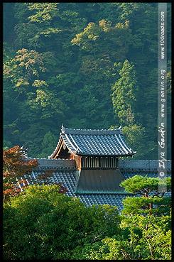 Храм Тэнрюдзи, Tenryu-ji, 天龍寺, Арасияма, Arashiyama, 嵐山, Киото, Kyoto, 京都市, регион Кансай, Kansai, Хонсю, Honshu Island, 本州, Япония, Japan, 日本