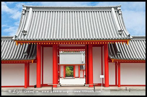 Императорский дворец в Киото, Kyoto Imperial Palace, Кёто Госё, Kyoto Gosho, 京都御所, Камигё-ку, Kamigyo-ку, 上京区, Киото, Kyoto, 京都市, регион Кансай, Kansai, Хонсю, Honshu Island, 本州, Япония, Japan, 日本