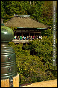 Сокровенный храм, Оку-но-ин, Oku-no-In, 奥の院, Киёмидзудэра, Kiyomizu-dera, 清水寺, Хигасияма, Higashiyama ,東山区, Киото, Kyoto, 京都市, Кансай, Kansai, 関西地方, Хонсю, Honshu Island, 本州, Япония, Japan, 日本