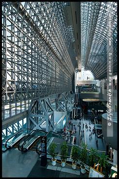 Вокзал Киото, Kyoto station, Киото, Kyoto, 京都市, Хонсю, Honshu Island, 本州, Япония, Japan, 日本