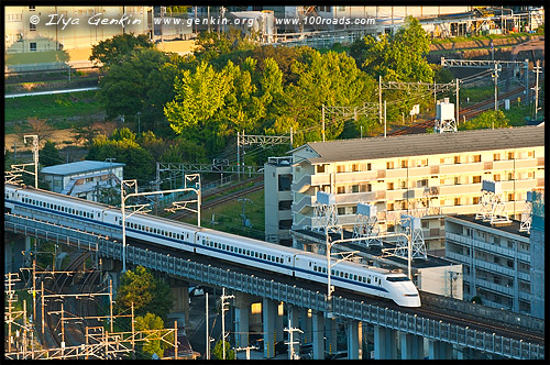 Станция Киото, Вокзал Киото, Kyoto Station, 京都駅, район Шимогё-ку, Симогё-ку, Shimogyo-ku, 下京区, Киото, Kyoto, 京都市,  регион Кансай, 関西地方, Kansai, 関西, Хонсю, Honshu Island, 本州, Япония, Japan, 日本
