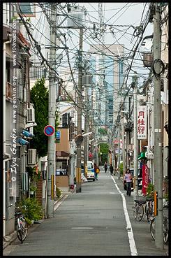 Улочка рядом хостелем, Киото, Kyoto, 京都市, Хонсю, Honshu Island, 本州, Япония, Japan, 日本
