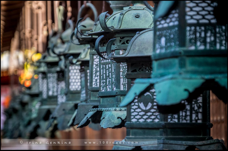 Святилище Касуга-тайся, 春日大社, Kasuga-taisha Shrine, Нара, Nara, 奈良市, Хонсю, Honshu Island, 本州, Япония, Japan, 日本)