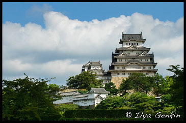 Himeji Castle, 姫路城, Hyogo Prefecture, Kansai region, Honshu Island, Japan