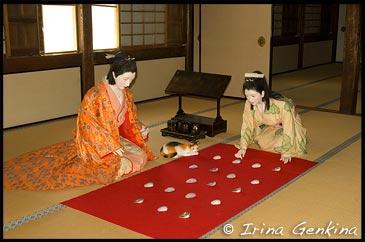 Инсталяция в башне Кесё Ягура, Keshou Yagura, 化粧櫓, Косметическая Башня, Замок Химедзи, Himeji Castle, 姫路城