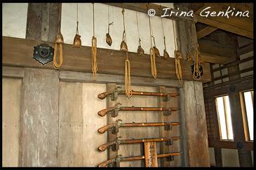 Bugukake (Стойка для оружия) в Главной Башне Замка Химедзи