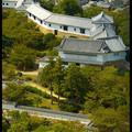 Вид на Западный двор Замка, Замок Химедзи, Himeji Castle
