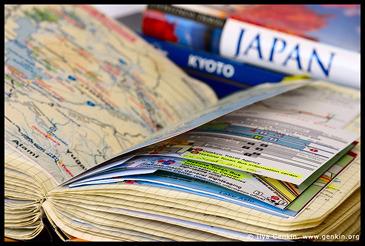Мое большое путешествие по Японии, каты, схемы, маршрут