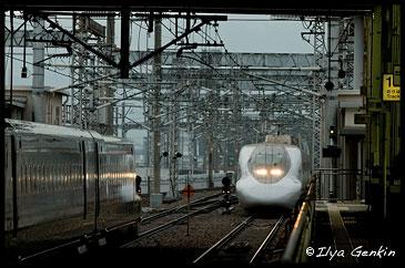 Станция Хаката (Hakata), Кумамото, Кусю, Япония