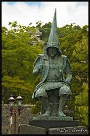 Памятник Като Киёмаса, Кумамото, Кусю, Япония