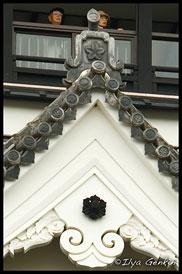 Фрагменты Главной Башни, Замoк Кумамото, Кумамото, Кусю, Япония