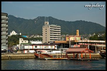 Паром, Пристань, Миядзима, Япония