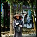 Монах, Миядзима, Япония