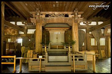 Алтарь, Храме Сэндзёкаку, Senjokaku, Миядзима, Япония