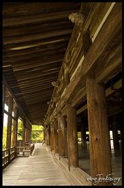 балкон или терраса, Храме Сэндзёкаку, Senjokaku, Миядзима, Япония