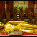 Reclining Buddha, Daisho-in Temple, Miyajima, Honshu, Japan