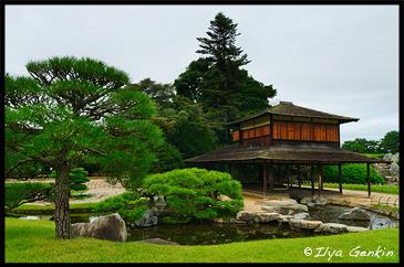 Ryuten Pavilion, Korakuen Garden, Okayama, Honshu, Japan
