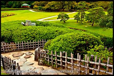 Yuishinzan Hillб 唯心山, Korakuen Garden, Okayama, Honshu, Japan
