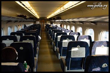 Вагон, Поезд, Хикари, Осака, Вокзал Шин-Осака, Япония