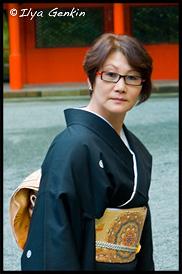 Мать Жениха, Храм Кудзурю (Kuzu-ryu Jinja), Хаконэ (Hakone), 箱根, Япония (Japan), 日本