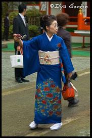 Гостья, Храм Кудзурю (Kuzu-ryu Jinja), Хаконэ (Hakone), 箱根, Япония (Japan), 日本