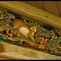 Фрагменты оформления на храмовой конюшне - поучающие сценки из жизни обезьян, Тосёгу, Toshogu, 東照宮, Никко, Nikko, 日光, Регион Канто, Kanto Region, 関東地方, Хонсю, Honshu Island, 本州, Япония, Japan, 日本