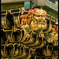 Фрагмент Ворот Ёмей-мон (Yomei-mon), Тосёгу, Toshogu, 東照宮, Никко, Nikko, 日光, Регион Канто, Kanto Region, 関東地方, Хонсю, Honshu Island, 本州, Япония, Japan, 日本