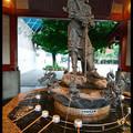 Tsukubai (Purification Wash Basin) at Senso-ji Temple, Asakusa, Tokyo, Kanto Region, Honshu Island, Japan