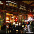 People Inside Senso-ji Temple, Asakusa, Tokyo, Kanto Region, Honshu Island, Japan