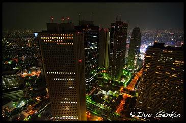 Sky-View from Tokyo Metropolitan, Синдзюку, Shinjuku, 新宿区, Токио, Tokyo, 東京, Регион Канто, Kanto Region, 関東地方, Хонсю, Honshu Island, 本州, Япония, Japan, 日本