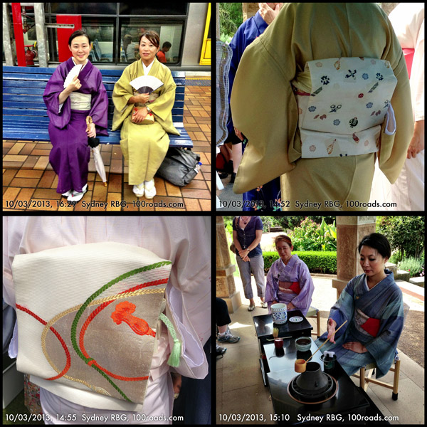 Autumn Vibes, Japanese tea ceremony, Royal Botanic Garden, Sydney, NSW, Australia