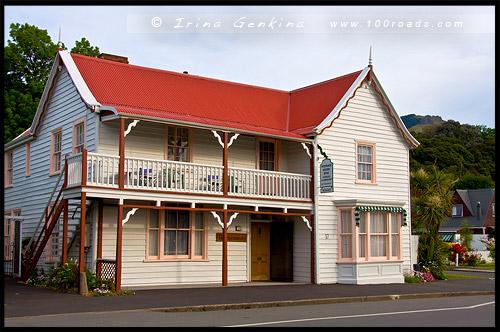 Windermere historic house, Акароа, Akaroa, Район Кентербери, Canterbury, Южный остров, South Island, Новая Зеландия, New Zealand