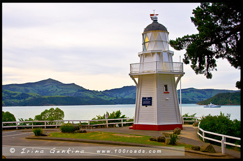Акароа, Akaroa, Район Кентербери, Canterbury, Южный остров, South Island, Новая Зеландия, New Zealand