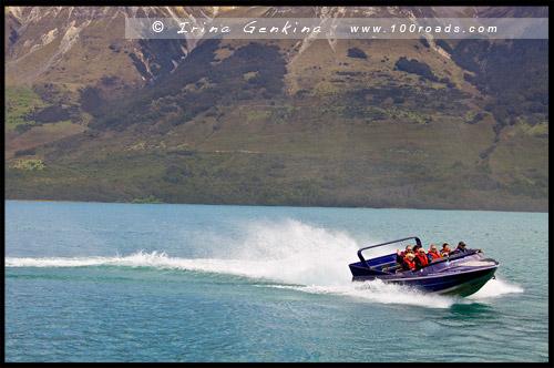 Озеро Вакатипу, Lake Wakatipu, Гленорчи, Glenorchy, Южный остров, South Island, Новая Зеландия, New Zealand