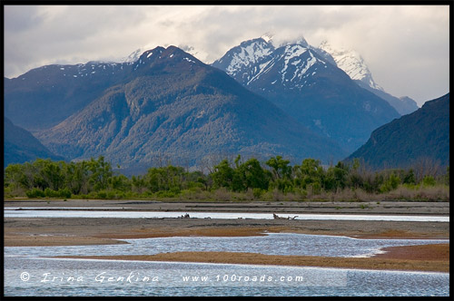 Гленорчи, Glenorchy, Южный остров, South Island, Новая Зеландия, New Zealand