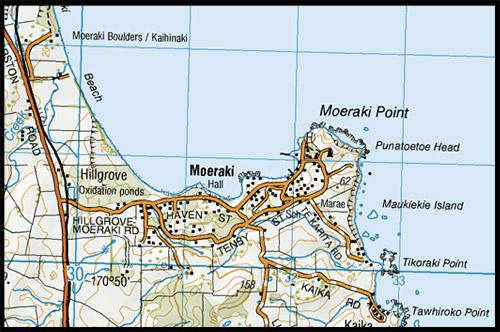 Валуны Моераки, Moeraki Boulders, пляж Коекохе, Koekohe Beach, район Отаго, Otago, Южный остров, South Island, Новая Зеландия, New Zealand